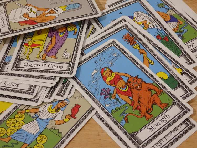 Carte da gioco e cartomanzia